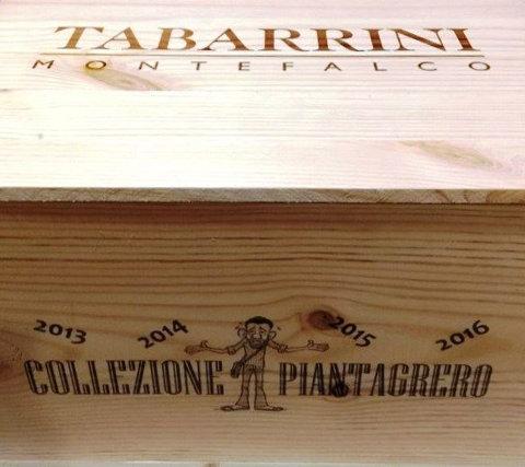 Billede af Tabarrini Rosso dell`Umbria Piantagrero vertikal i trækasse