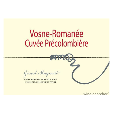 Billede af Gérard Mugneret Vosne-Romanée Cuvée Précolombière 2018